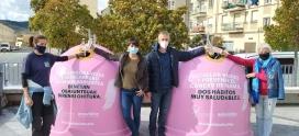 Ecovidrio y la Mancomunidad RSU IRATI presentan la campaña solidaria 'Recicla Vidrio por ellas' con motivo del Día Mundial del Cáncer de Mama